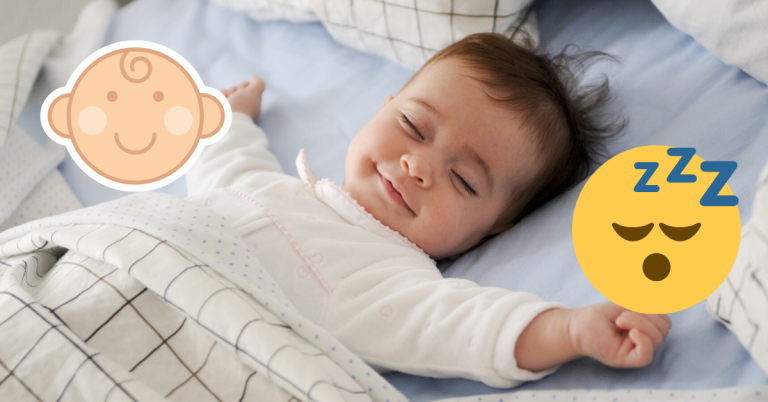 Sleeping Baby Photo for Teaching Your Baby to Sleep Tip for New Fathers