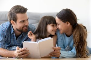 Show and tell your love to your children as a good parenting behavior