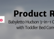 babybletto hudson 3 in 1 baby crib