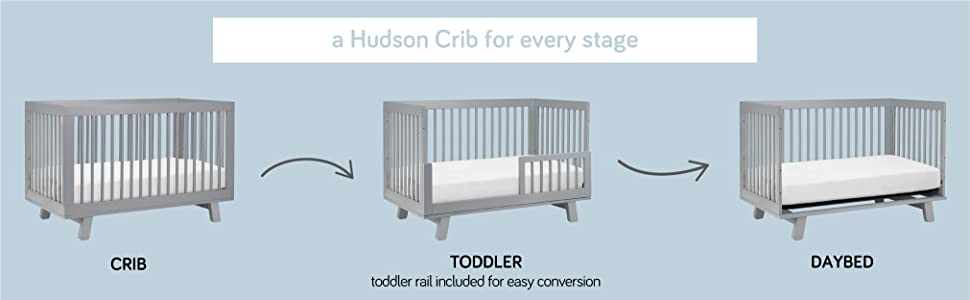 babyletto hudson convertible 3-in-1