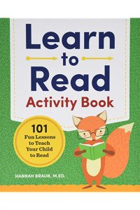 learn to read activity book review image